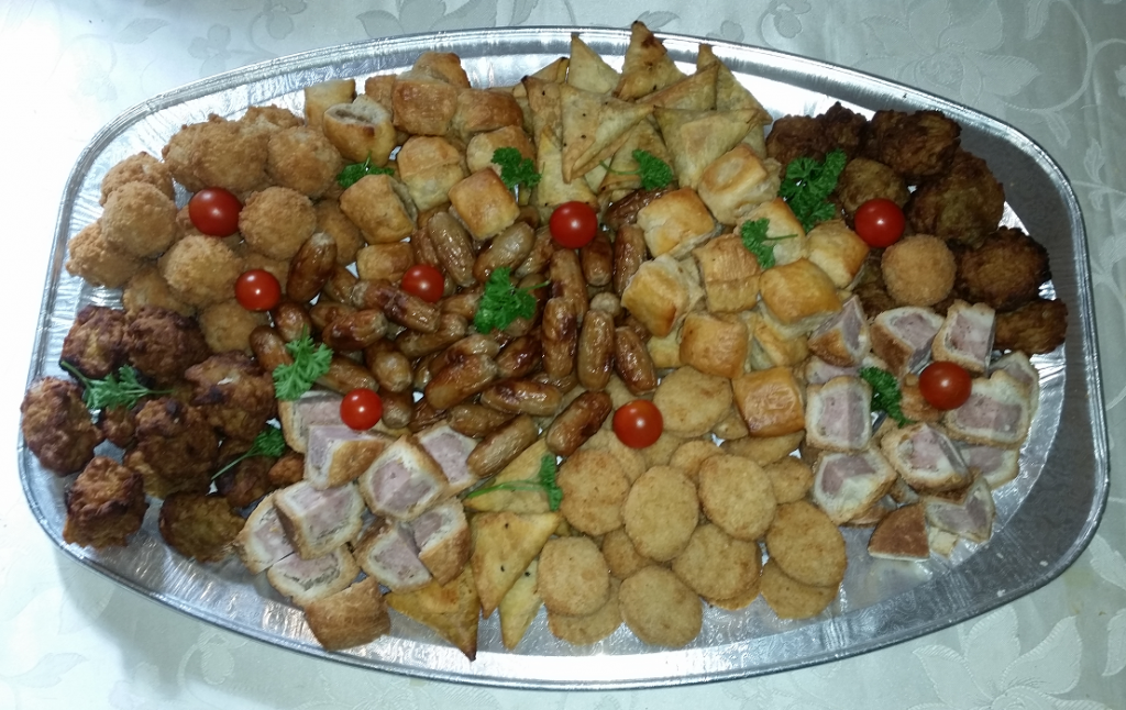 wedding buffet catering food